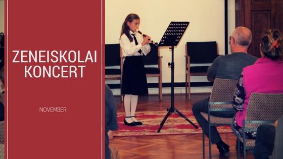Zeneiskolai koncert