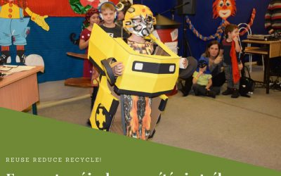 Farsang az újrahasznosítás jegyében