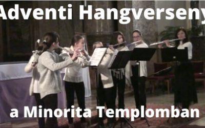 Adventi Hangverseny a Minorita Templomban